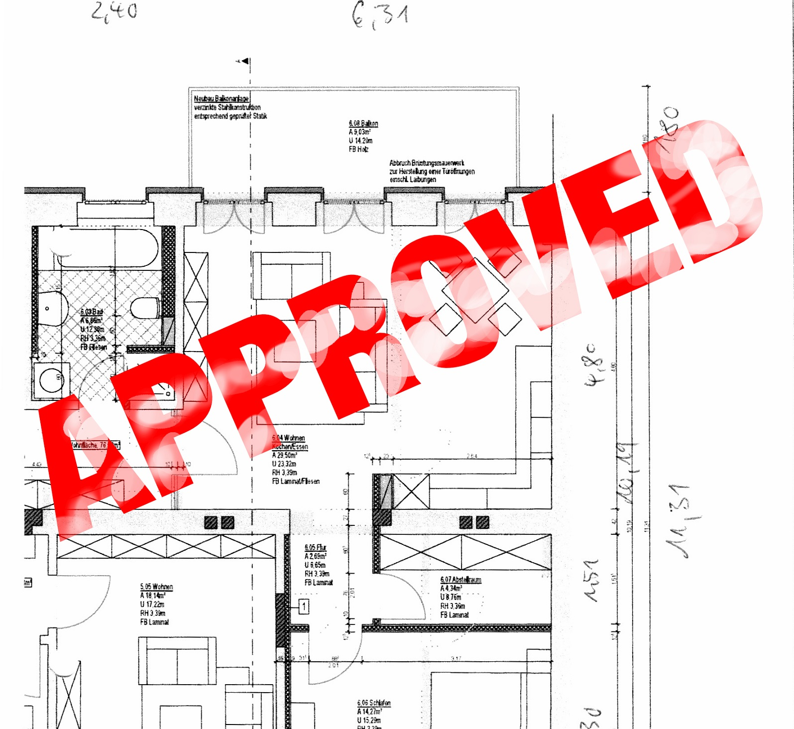 Precautionary measures when granting of building permit provisions Image